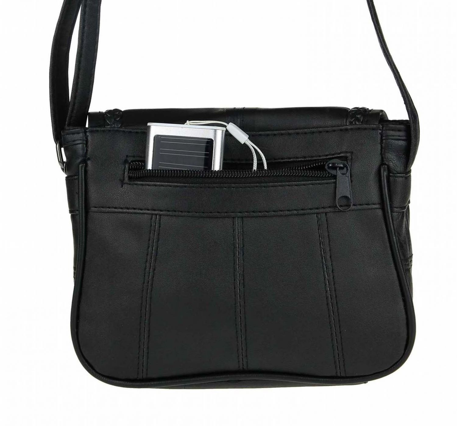 luxus damen nappa leder hand tasche schultertasche clutch crossover bag street ebay. Black Bedroom Furniture Sets. Home Design Ideas