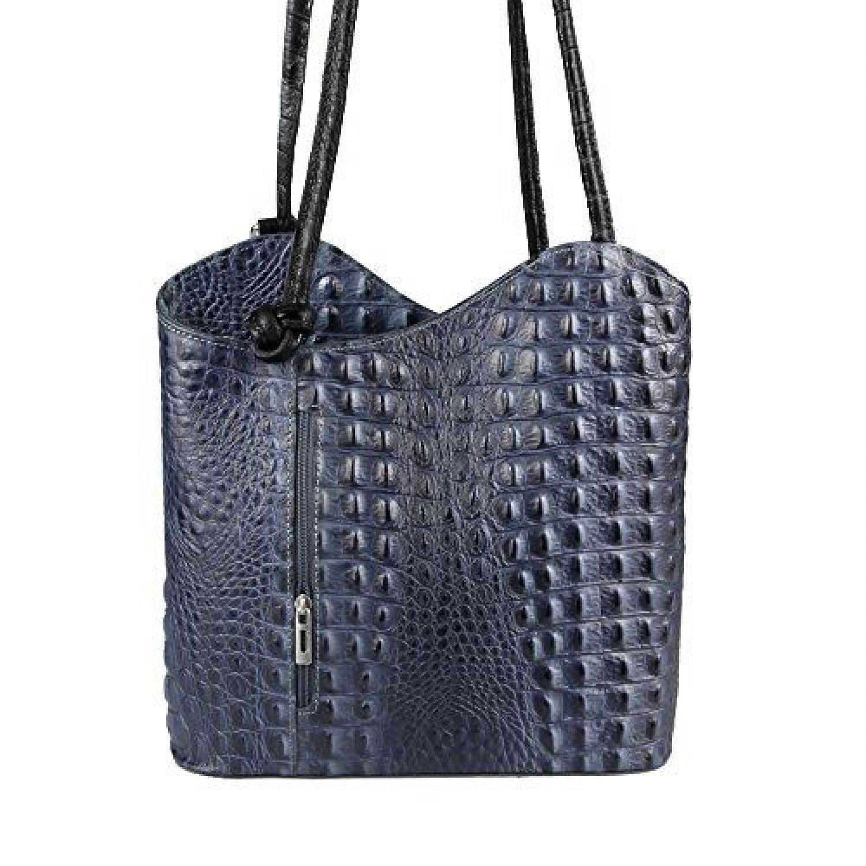 Tasche Als Rucksack : ital damen tasche leder 2in1 handtasche als rucksack ~ Eleganceandgraceweddings.com Haus und Dekorationen