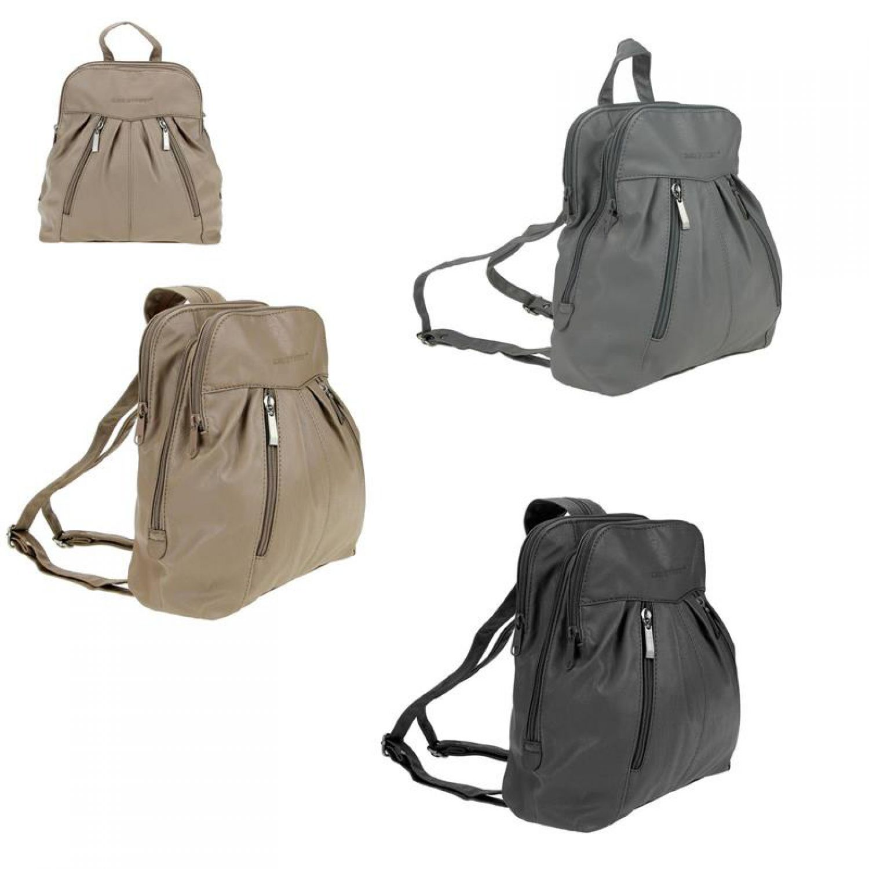 damen rucksack clevere cityrucksack stadtrucksack backpack schultertasche tasche ebay. Black Bedroom Furniture Sets. Home Design Ideas