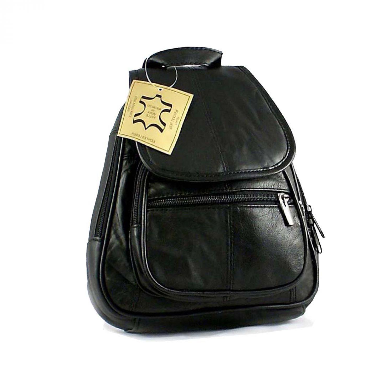 kleiner damen leder rucksack tasche cityrucksack schultertasche reise urlaub bag ebay. Black Bedroom Furniture Sets. Home Design Ideas