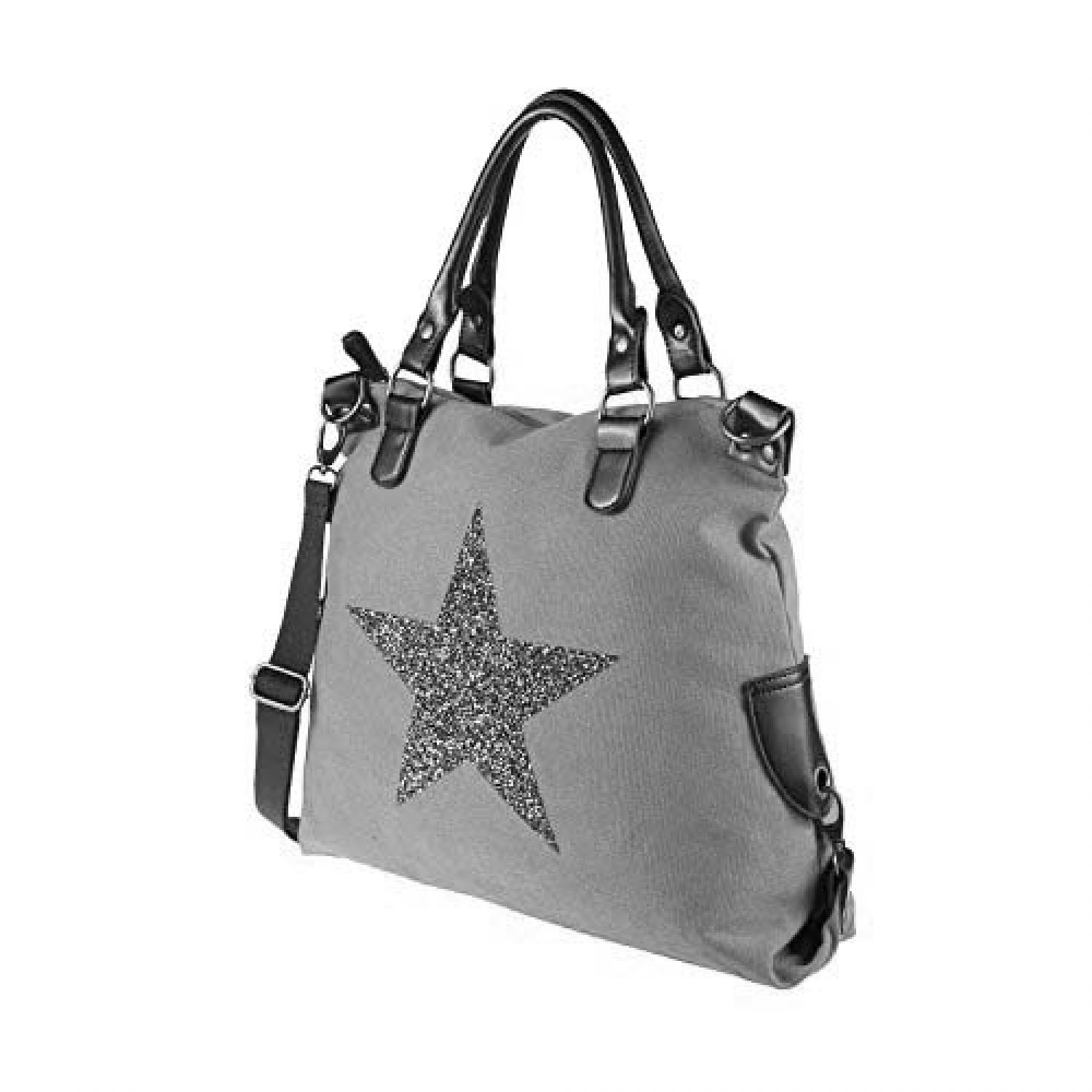 Sac A Main Bandouliere Strass : Xxl besace pour femme din a ?toile sac toile ger