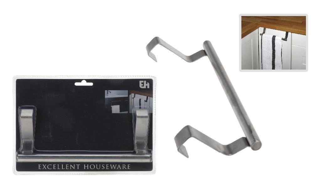 handtuchhalter f r t r halter f r geschirrtuch handtuch sp llappen waschlappen. Black Bedroom Furniture Sets. Home Design Ideas