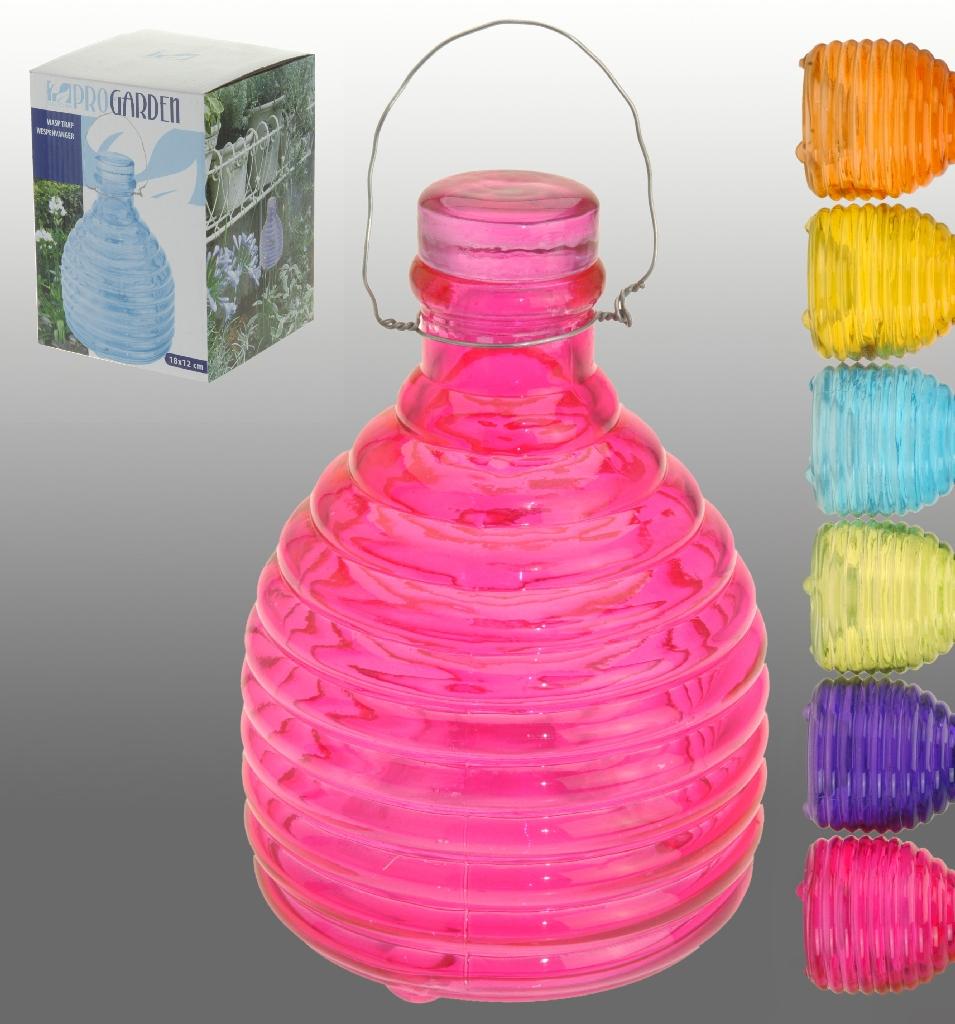 wespenf nger glas verschiedene farben insektenschutz gegen bienen und wespen ebay. Black Bedroom Furniture Sets. Home Design Ideas