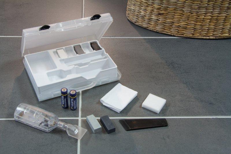 fliesen reparaturset fliesen reparieren leicht gemacht fliesen reparatur kit ebay. Black Bedroom Furniture Sets. Home Design Ideas