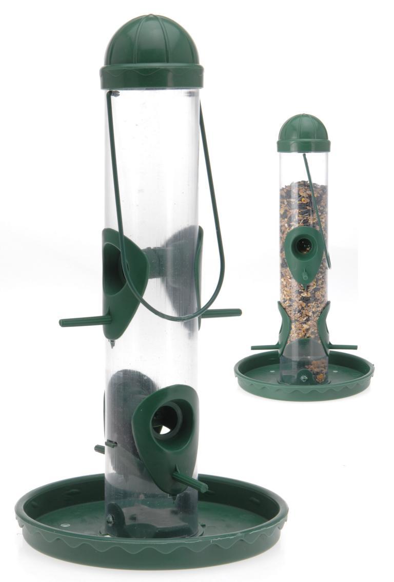 vogelfuttersilo futterspender f r v gel vogelfutterspender vogelfutter silo ebay. Black Bedroom Furniture Sets. Home Design Ideas