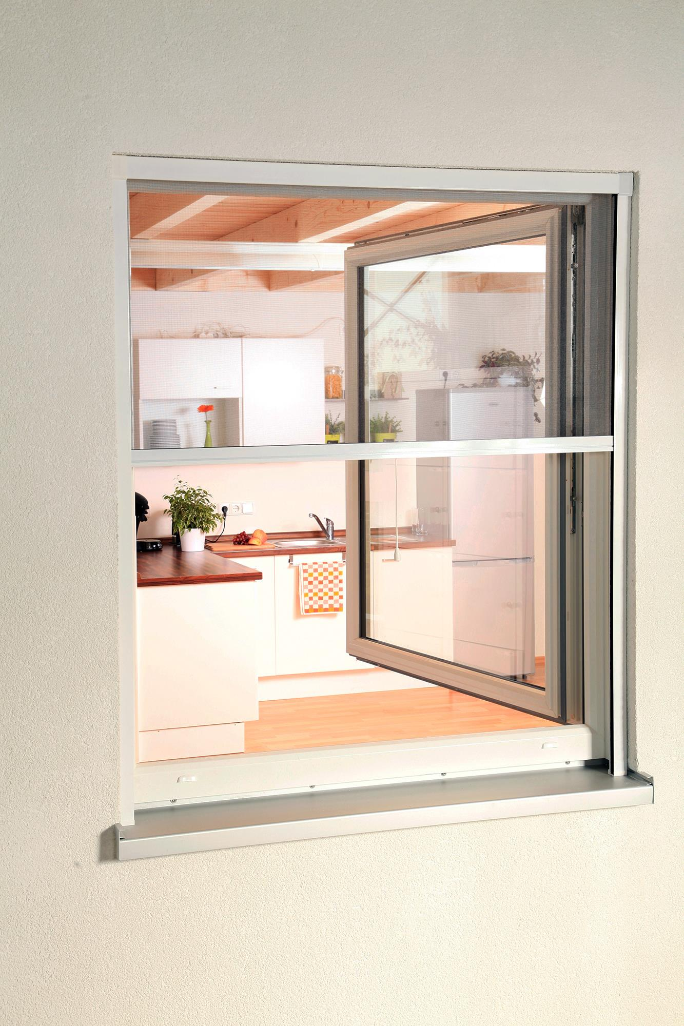insektenschutzrollo smart fliegengitter rollo f r. Black Bedroom Furniture Sets. Home Design Ideas