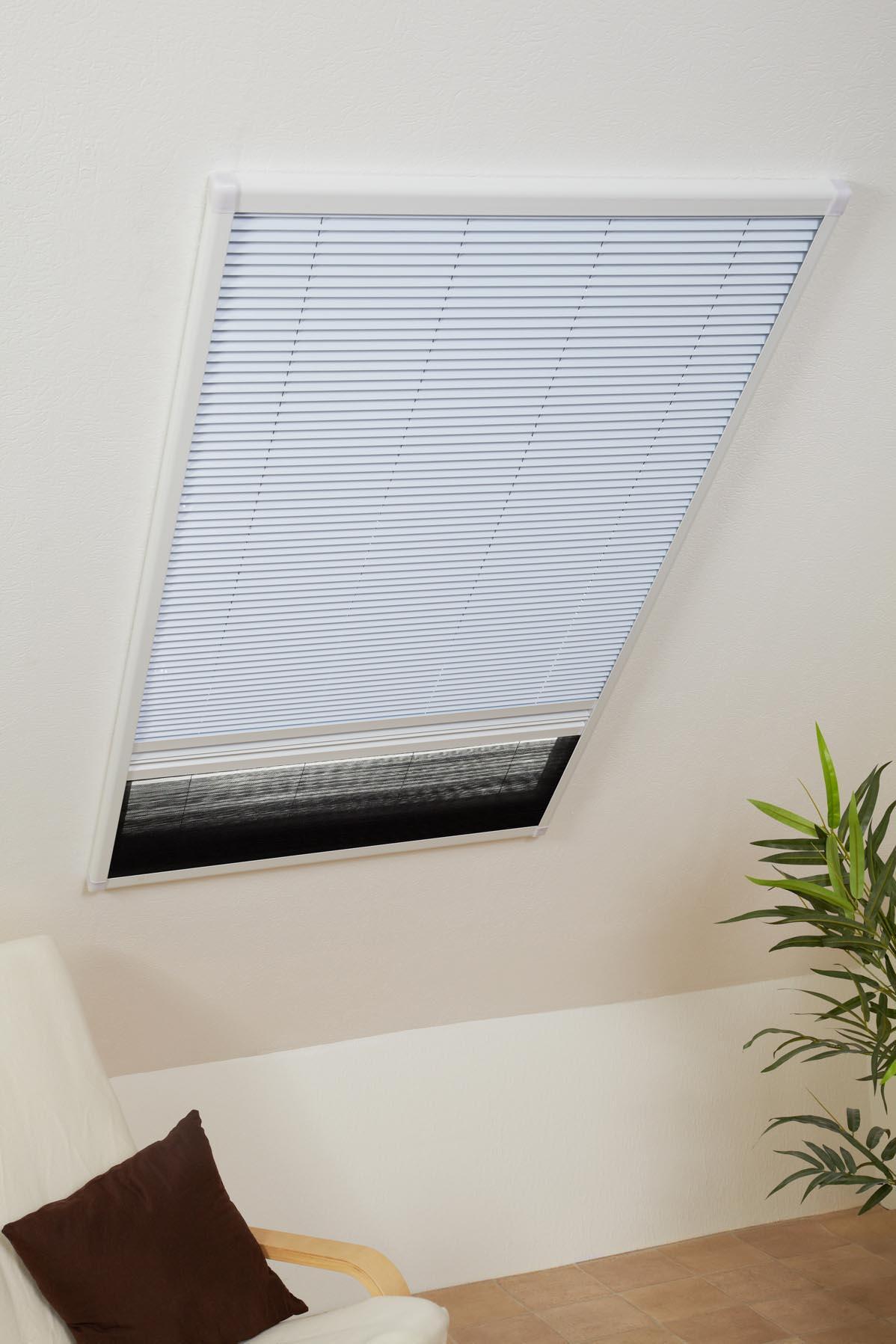 kombi dachfenster plissee sonnenschutz fliegengitter gaze insektenschutz top ebay. Black Bedroom Furniture Sets. Home Design Ideas