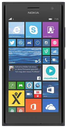 nokia lumia 735 smartphone 4 7 zoll touchscreen win 8 1. Black Bedroom Furniture Sets. Home Design Ideas
