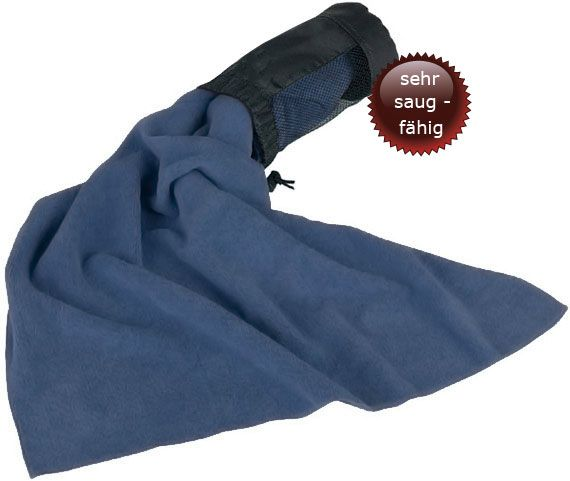 mivall microfaser handtuch badetuch reisehandtuch blau camping outdoor ebay. Black Bedroom Furniture Sets. Home Design Ideas
