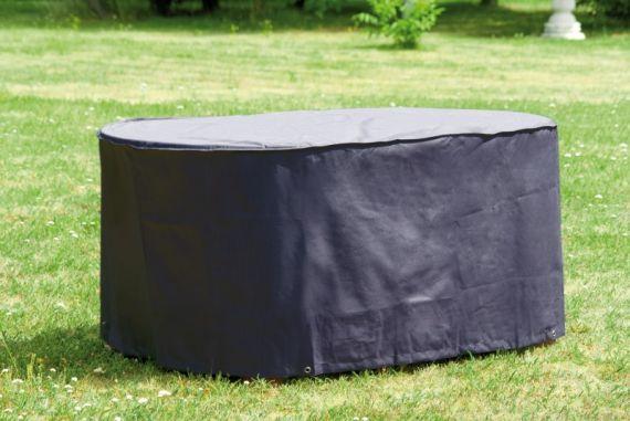 schutzh lle h lle abdeckung deluxe f gartentisch tisch wetterschutz 170 x 100cm. Black Bedroom Furniture Sets. Home Design Ideas
