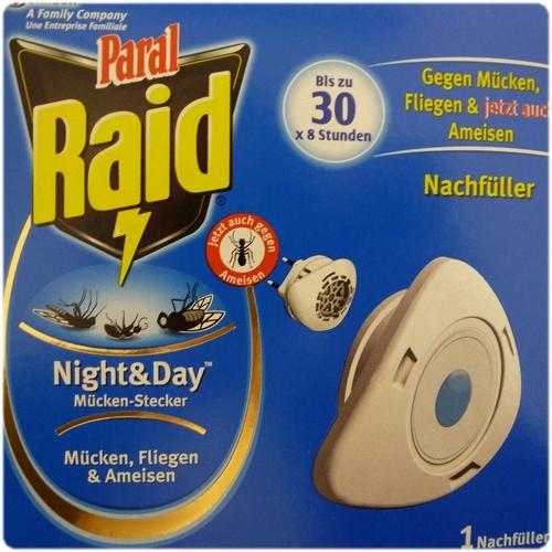 raid night day m cken stecker nachf ller bis zu 30. Black Bedroom Furniture Sets. Home Design Ideas