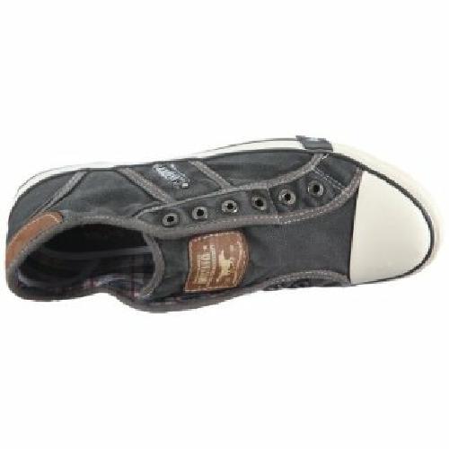 mustang shoes herren slipper schuhe sneaker ohne schn rsenkel grau gr 41 46 ebay. Black Bedroom Furniture Sets. Home Design Ideas