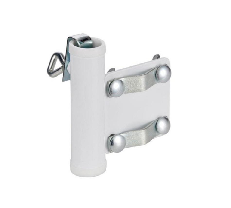 sonnenschirmhalter f r balkongel nder haltung sonnenschirm schirm balkon 25 mm ebay. Black Bedroom Furniture Sets. Home Design Ideas