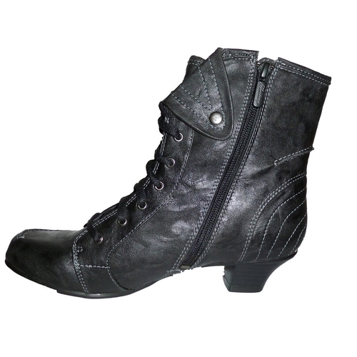 mustang shoes stiefelette schwarz damen stiefel boots gr. Black Bedroom Furniture Sets. Home Design Ideas