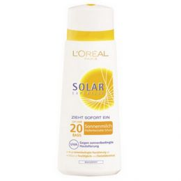 loreal paris solar expertise sonnenmilch lsf 20 zieht sofort ein 2 79eur 100ml ebay. Black Bedroom Furniture Sets. Home Design Ideas