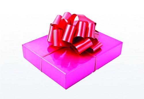 3x geschenkband bogen blume rosette in rot gebrurtstagsgeschenk deko ebay. Black Bedroom Furniture Sets. Home Design Ideas