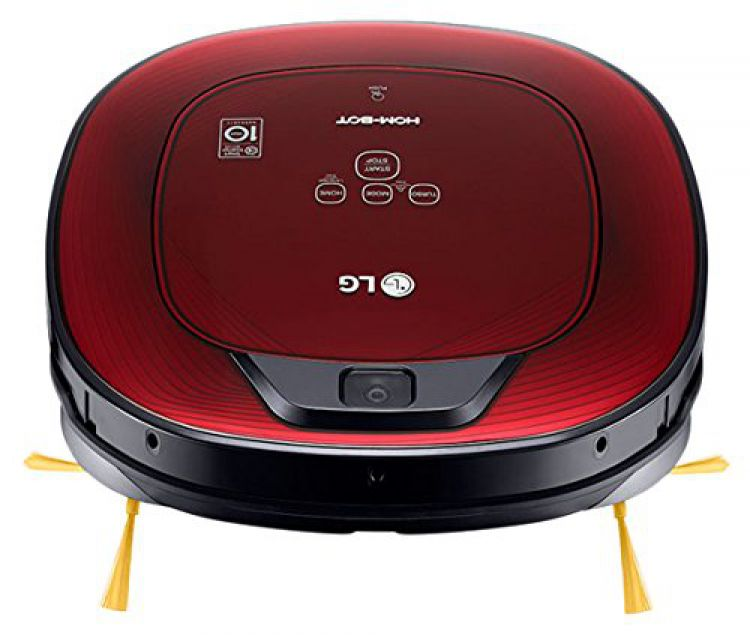 lg vr8602rr staubsauger roboter hombot square turbo serie 9 rot no311 c ebay. Black Bedroom Furniture Sets. Home Design Ideas