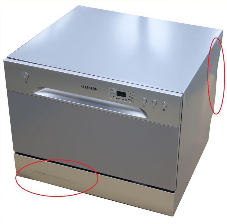 Klarstein Amazonia 6 Argentea Spülmaschine A