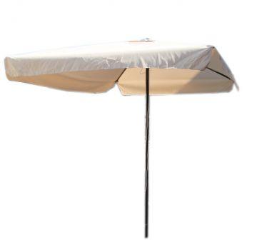 rechteckig sonnenschirm marktschirm gartenschirm 200 x 300 cm beige ac351 ebay. Black Bedroom Furniture Sets. Home Design Ideas