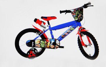 dino bikes 414uav marvel avengers kinder fahrrad 14 zoll. Black Bedroom Furniture Sets. Home Design Ideas