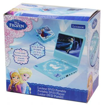 lexibook dvdp6fz disney frozen tragbarer dvd player. Black Bedroom Furniture Sets. Home Design Ideas