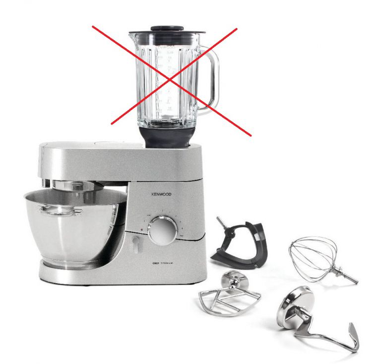 Kenwood Chef Titanio KMC050 Robot da cucina,1.400 W Senza | eBay