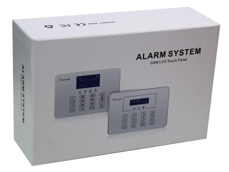 alarme maison kit type 2017 gsm sans fil sprachsynthese en. Black Bedroom Furniture Sets. Home Design Ideas