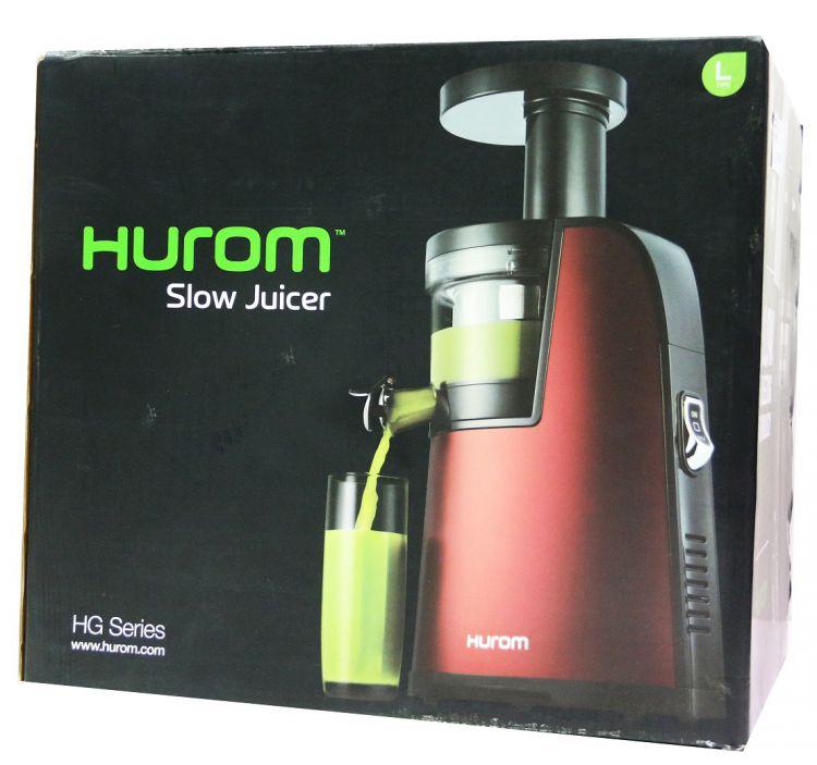 Hurom HG-EBE11 Slow Juicer HG Serie 2 Generation 40 U/min Entsafter weinrot NN30 eBay