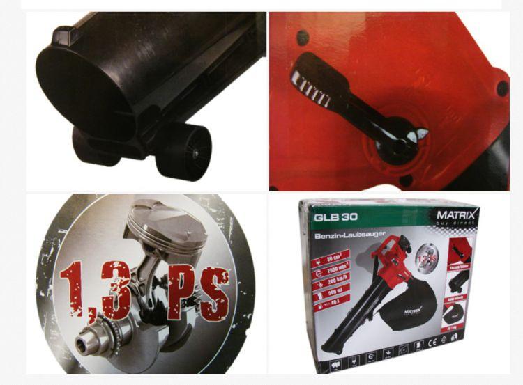 benzin bl ser sauger laubsauger 1 3ps 3 in 1 h cksler glb30 nn343 c ebay. Black Bedroom Furniture Sets. Home Design Ideas