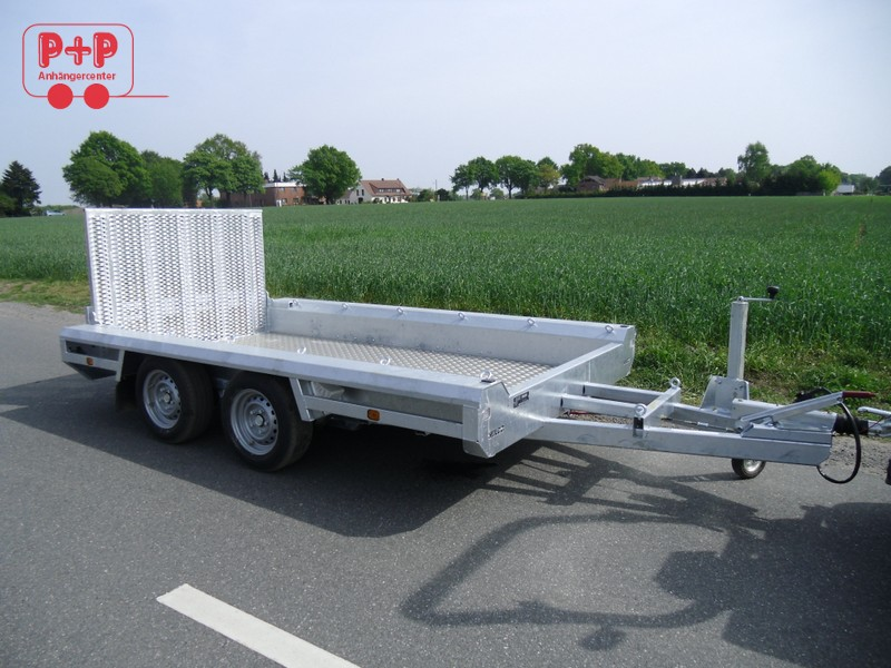 hulco terrax 2 minibaggertransporter bagger 3000kg pkw. Black Bedroom Furniture Sets. Home Design Ideas
