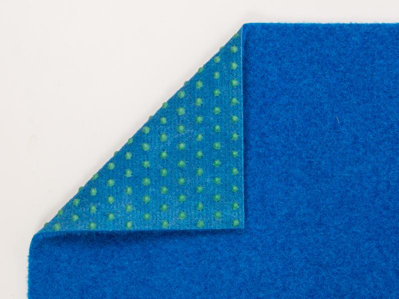kunstrasen park blau rasenteppich mit noppen vlies 6. Black Bedroom Furniture Sets. Home Design Ideas