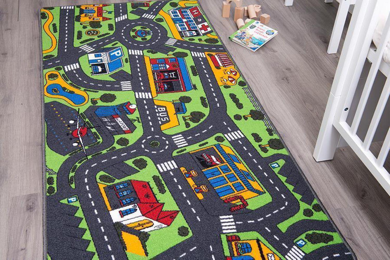 Alfombra de juego carreteras alfombra coches alfombra - Alfombra carretera ...
