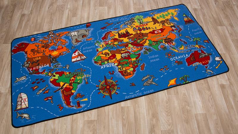 Bambini Tappeti Per Mappamondo  Mappa Del Mondo  2