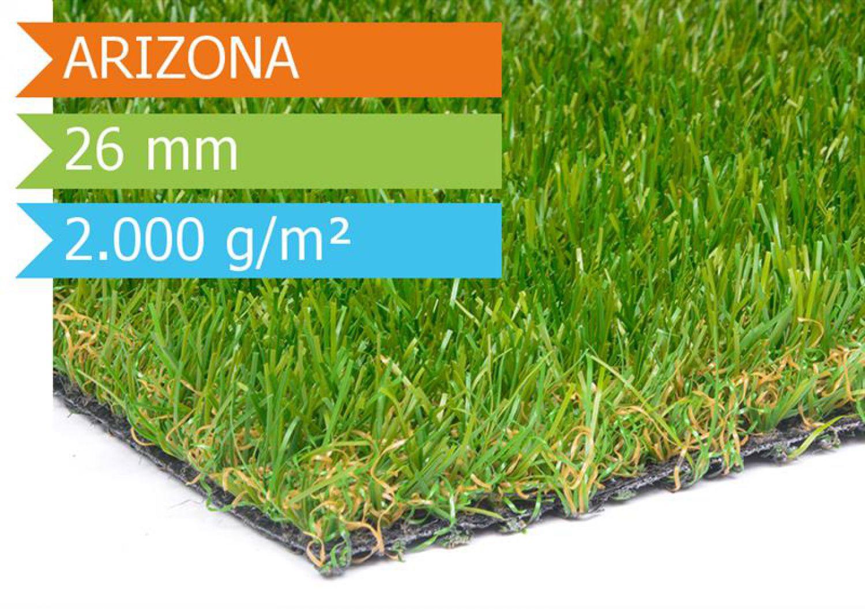Kunstrasen arizona echtrasen optik weicher tuftrasen meterware 20 m ebay - Rasenteppich meterware ...