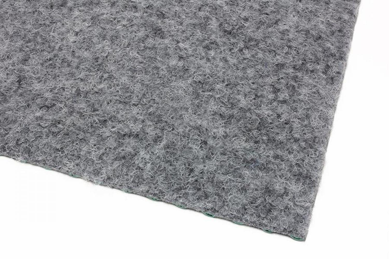 kunstrasen green grau rasenteppich mit noppen vlies teppichboden 6 00 m ebay. Black Bedroom Furniture Sets. Home Design Ideas