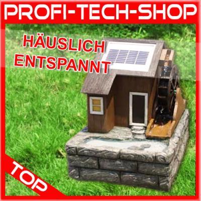 solar teichpumpe pumpe spring wasserm hle wasser spiel teich garten figur. Black Bedroom Furniture Sets. Home Design Ideas