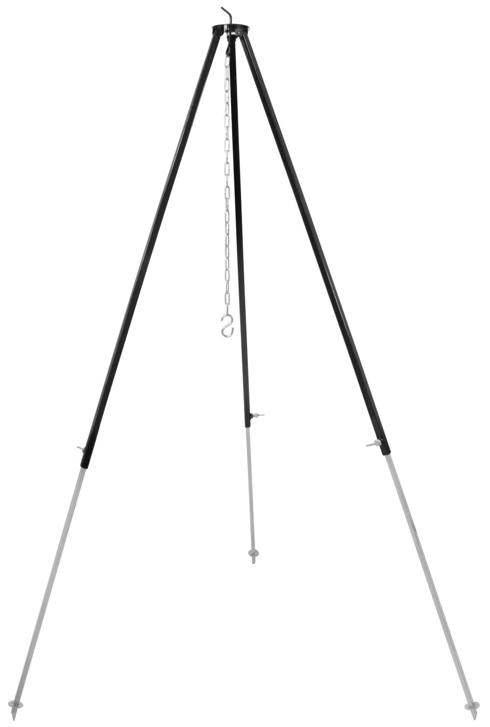 gulaschkessel dreibein 180 cm f r kesselgulasch schwenkgrill und feuerstelle ebay. Black Bedroom Furniture Sets. Home Design Ideas