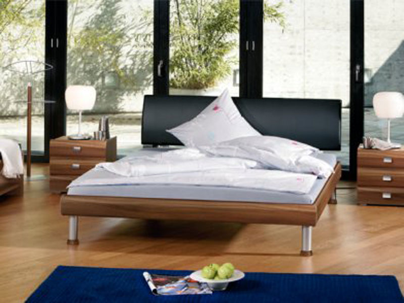 hasena bett soft line noble14 f e granada alu kopfteil lecco ebay. Black Bedroom Furniture Sets. Home Design Ideas