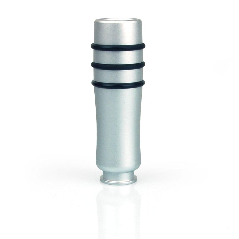 mini handbremshebelgriff griff aluminium gefr st silber eloxiert racefoxx ebay. Black Bedroom Furniture Sets. Home Design Ideas