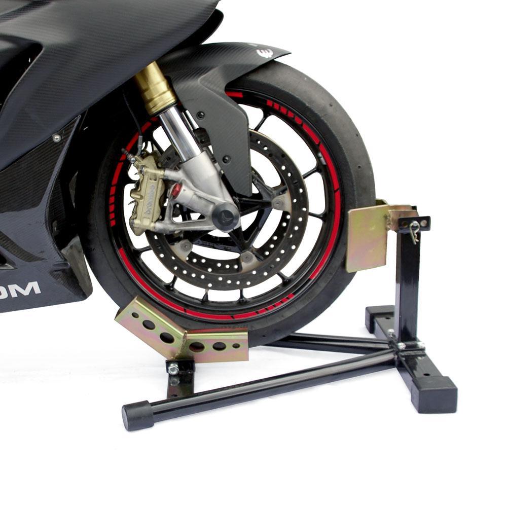 motorrad wippe radklemmer transportwippe st nder voderrad. Black Bedroom Furniture Sets. Home Design Ideas