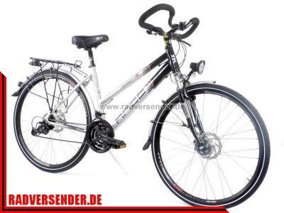 28 alu trekkingbike damen fahrrad 24 gang shimano deore. Black Bedroom Furniture Sets. Home Design Ideas