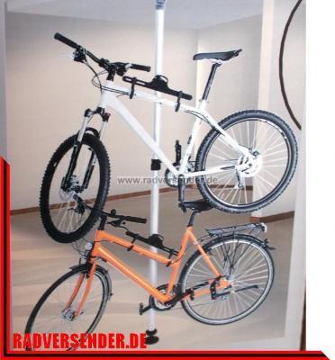 aluminium teleskop fahrradhalterung halterung 2 r der fahrradst nder fahrrad ebay. Black Bedroom Furniture Sets. Home Design Ideas