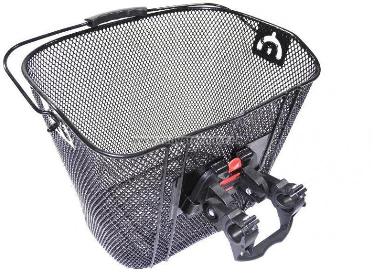 fahrradkorb vorn abnehmbar einkaufskorb easy click. Black Bedroom Furniture Sets. Home Design Ideas