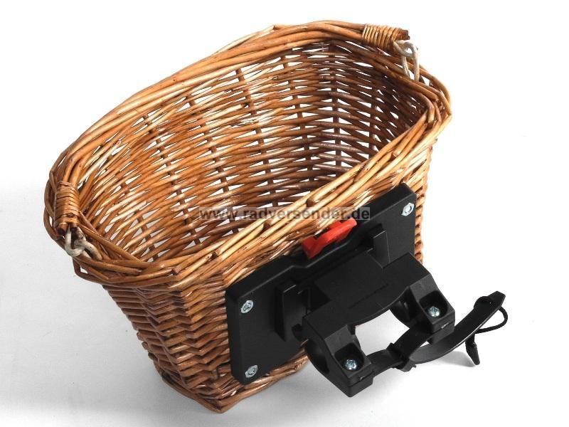 weiden fahrradkorb weidenkorb vorn abnehmbar einkaufskorb citykorb engmaschig ebay. Black Bedroom Furniture Sets. Home Design Ideas