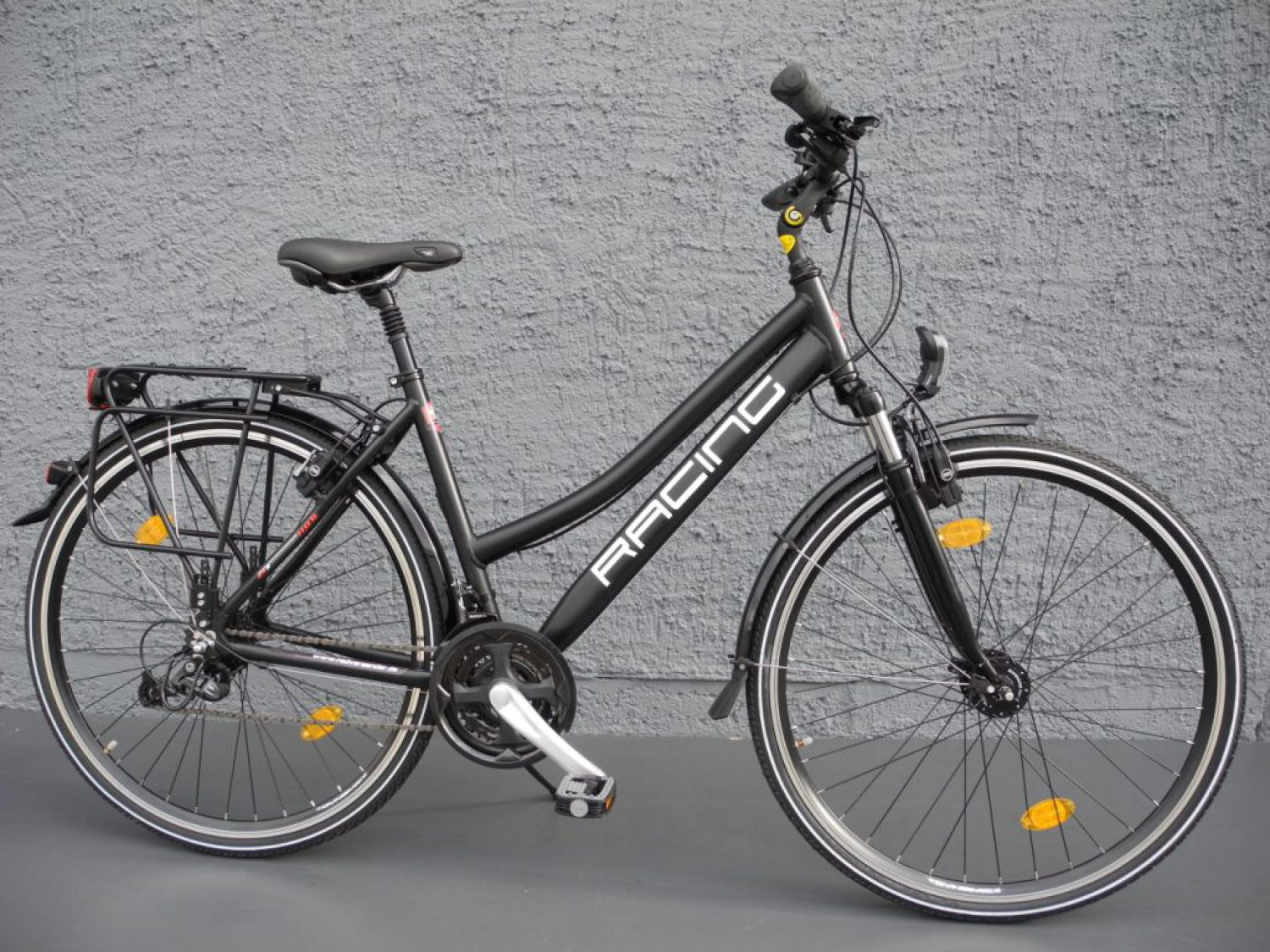 28 alu damen trekking bike fahrrad shimano deore 24 gang. Black Bedroom Furniture Sets. Home Design Ideas