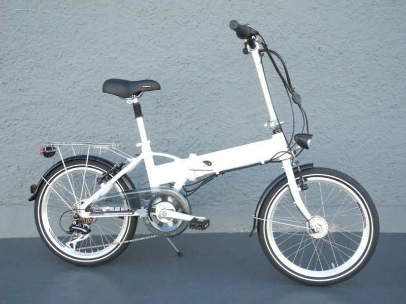 20 zoll klapprad e bike elektro fahrrad faltrad pedelec. Black Bedroom Furniture Sets. Home Design Ideas