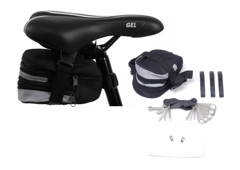 werkzeug sattel tasche fahrrad reparatur pannenset mit. Black Bedroom Furniture Sets. Home Design Ideas