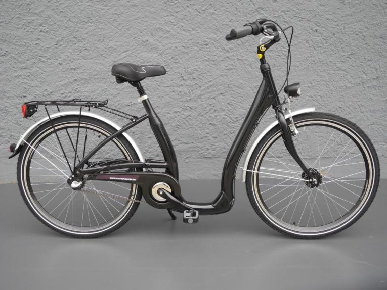 26 zoll alu damen fahrrad city bike easy boarding shimano. Black Bedroom Furniture Sets. Home Design Ideas