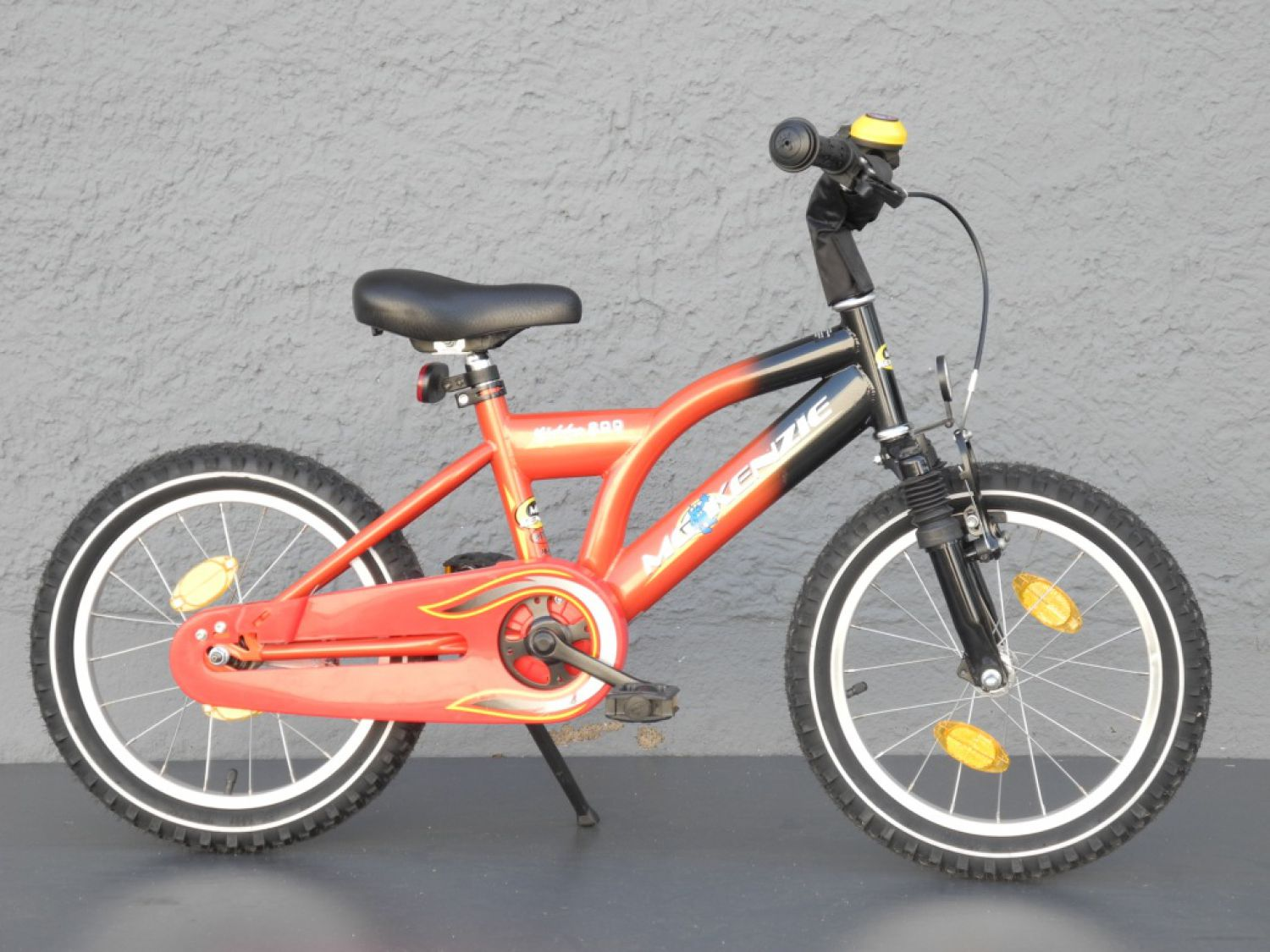 16 zoll mtb kinder fahrrad mc kenzie mountain bike orange. Black Bedroom Furniture Sets. Home Design Ideas