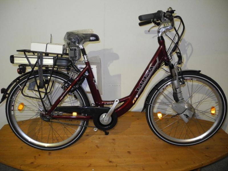 26 elektro fahrrad e bike mifa 36v 10 ah rot sram s7 ebay. Black Bedroom Furniture Sets. Home Design Ideas